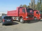Продаём новые самосвалы   Хово Howo в наличии  в городе  Омске ,  6х4 25 тонн  2300000 рублей.
