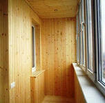 Внутреняя отделка балконов