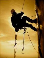 высотные работы,  промышленный альпинизм
