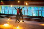 Фаер шоу в г.Магнитогорск (театр огня KIA ORA!)