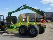 Продаем тракторную лесовозную тележку SVETEKA 10-25 на МТЗ «Беларус»