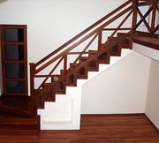 Недорогие и надежные перила и лестницы из нержавейки и дерева