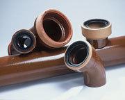 Трубы  керамические (вечные),  канализационные. Трубы стальные с наружной ВУС изоляцией